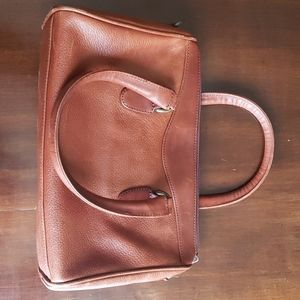 Talbots leather purse